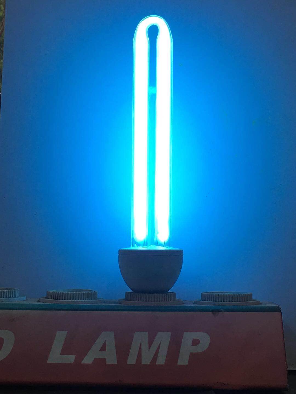 E27 sterilizer UV lamp without Ozone